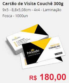 Impressos Cartões e Panfletos Hinode
