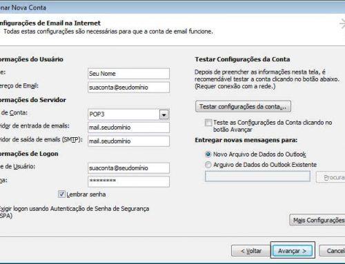 Como configurar Microsoft Outlook 2010