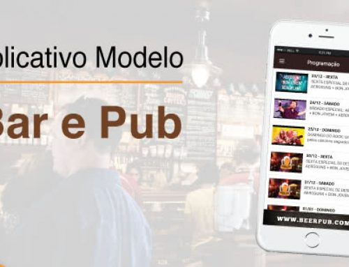 Aplicativo ideal para Bares e Pubs